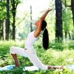 pratique du yoga en nature